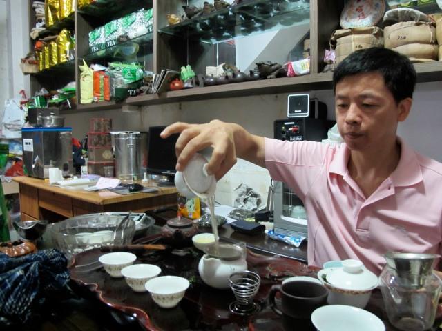 Guangdong tea shop